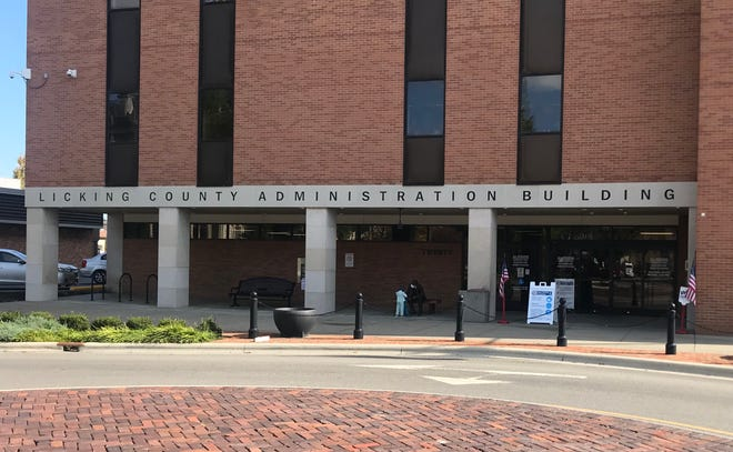 The Don Hill Licking County Administration Building, site of early voting in the lower level.