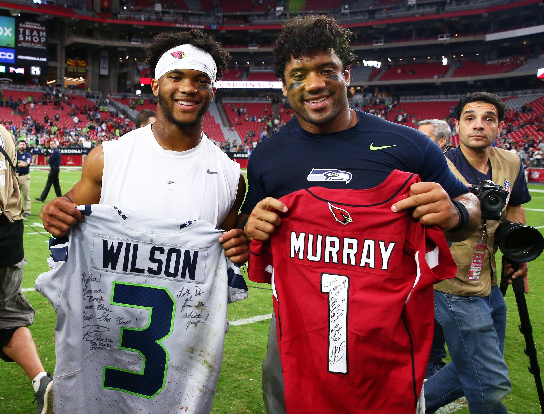 Can Cardinals' Kyler Murray be better than Seahawks' Russell Wilson?