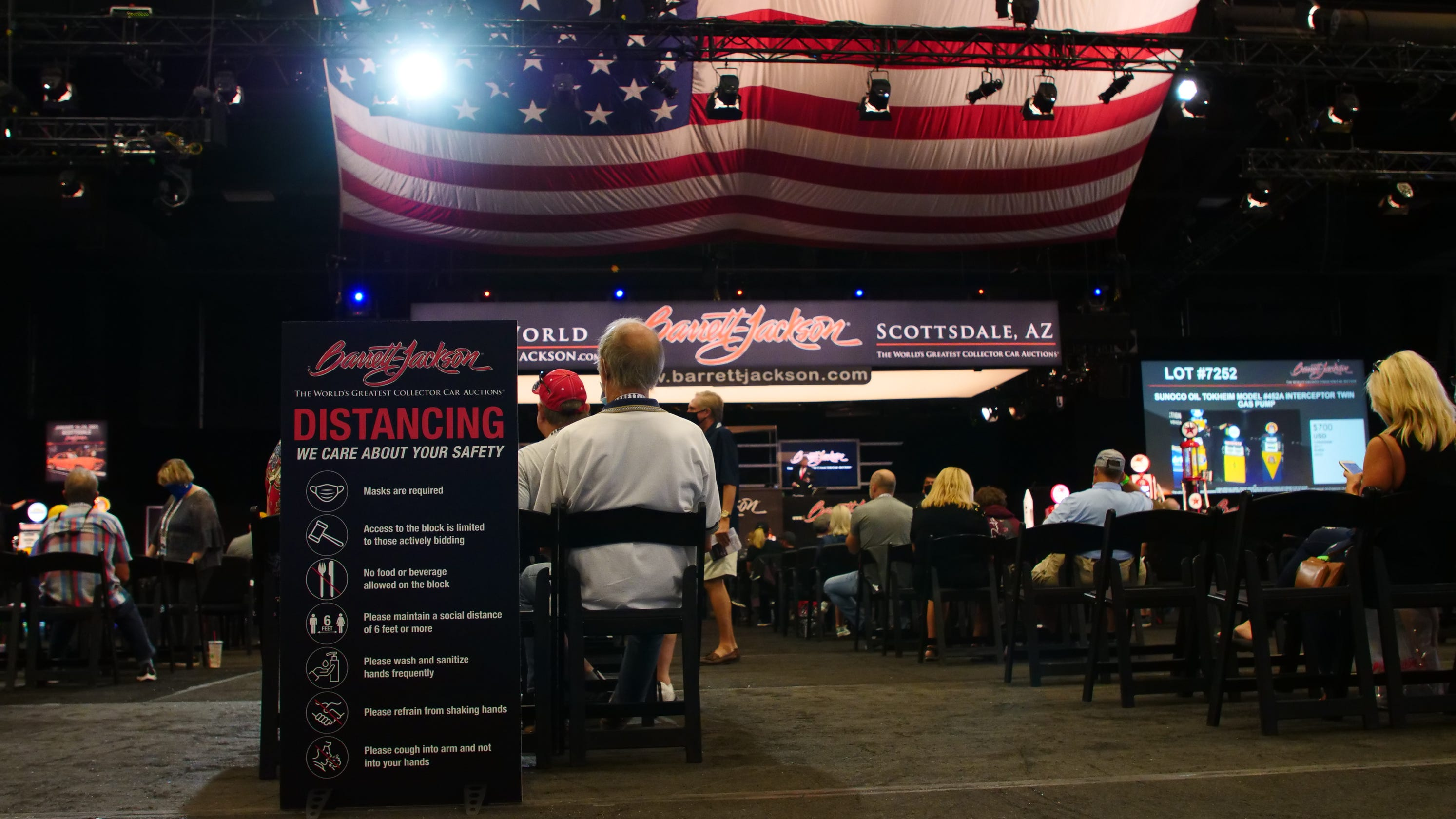 Barrett-Jackson and other large events resume in Scottsdale, but COVID-19 has brought changes
