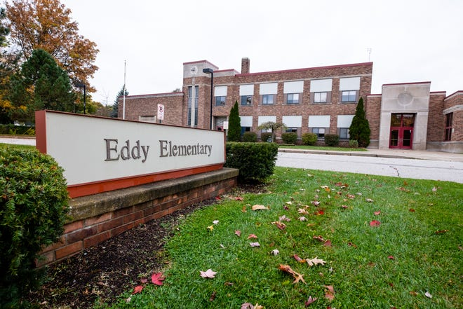 Eddy Elementary School was closed in 2019. Officials are hoping the site can be redeveloped in the future.