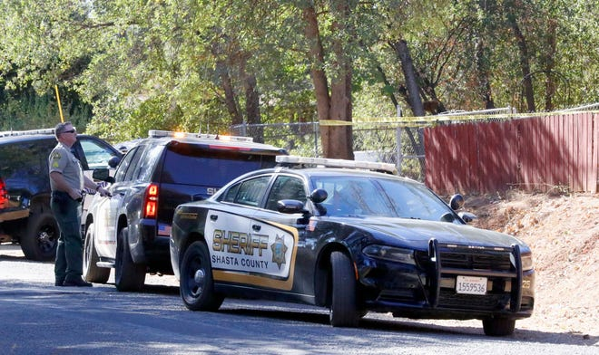 The Shasta County sheriff's Major Crimes Unit was at a house in the 1120 block of Black Canyon Road on Friday investigating a reported accidental shooting.