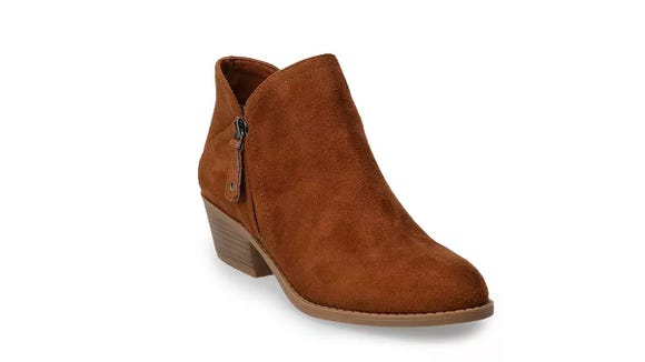 These ankle boots are super stylish and customers say that they're comfortable, too.