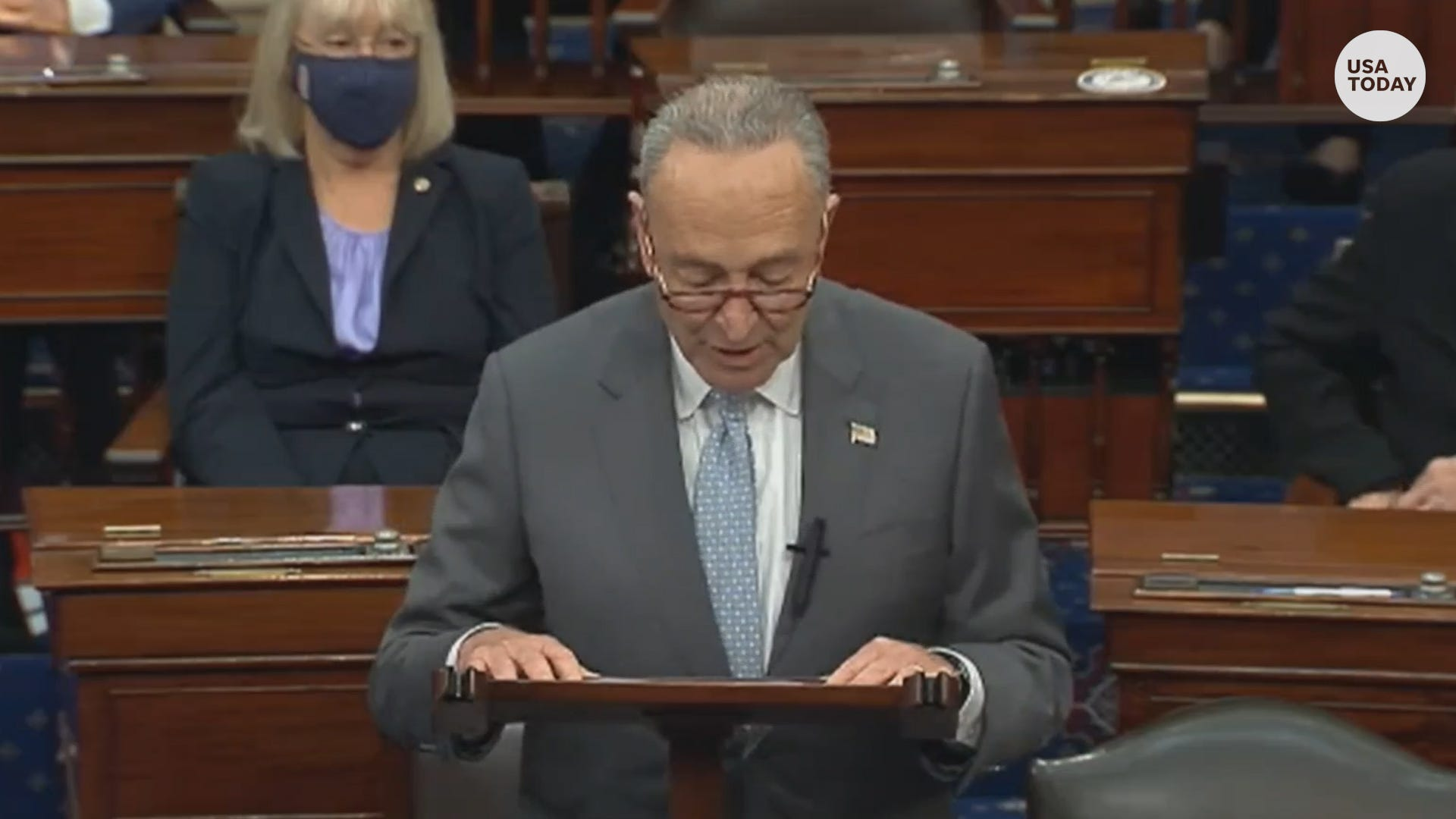 Schumer slams GOP advancing Amy Coney Barrett's confirmation process so close to election