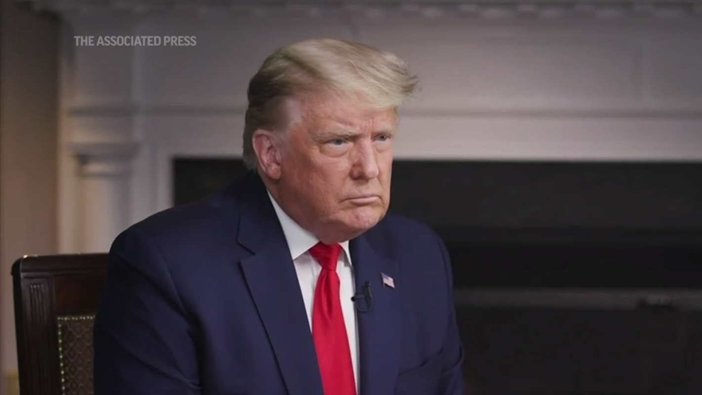 'What just happened with the President?': '60 Minutes' airs Lesley Stahl's contentious Trump interview