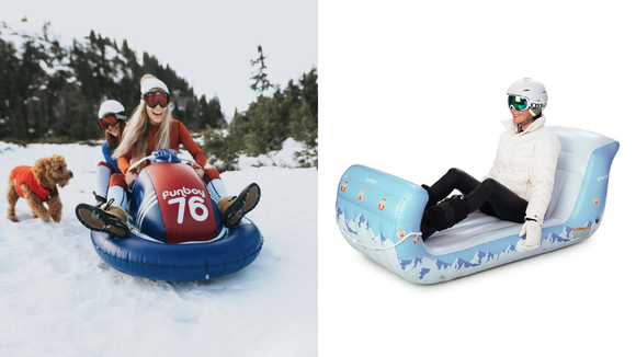 Funboy just released inflatable sleds for winter—here's where to get them