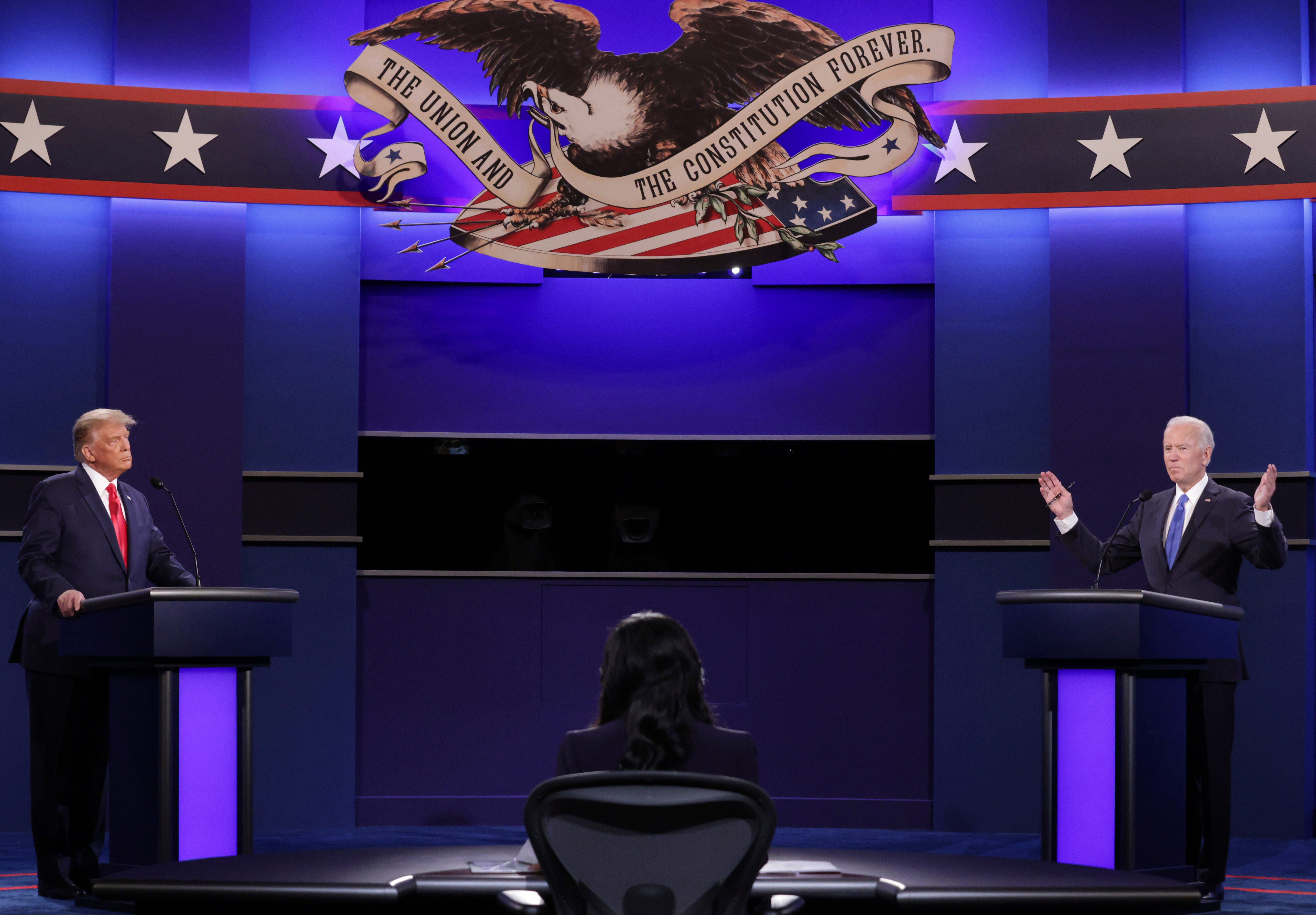 'Learning to live' with COVID-19, Bidencare and other top moments from the final presidential debate