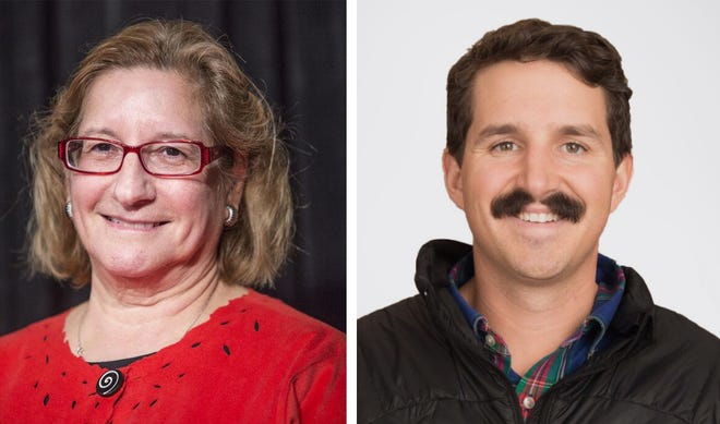 Incumbent Kathryn Leonard is being challenged for her Ward 3 seat on the Newport City Council by Paul Marshall.