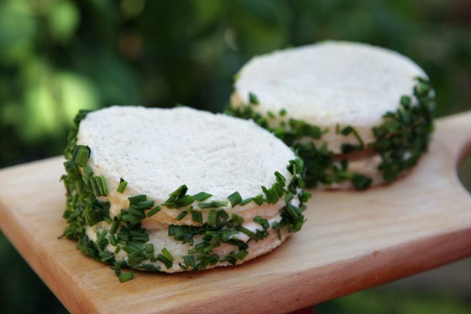 Onion is the featured ingredient in these James Beard's Onion Sandwiches,  (St. Louis Post-Dispatch/TNS)