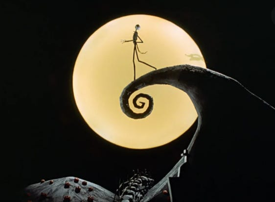 Disney's Tim Burton's The Nightmare Before Christmas (1993)