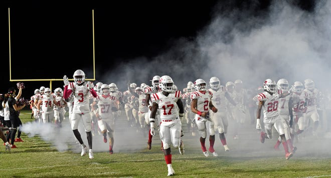 The Palmetto High football team will not be in action Friday at Brandon High after the Eagles forfeited the Class 6A play-in playoff game. The Tigers will be home Oct. 20 against the winner of Tampa Middleton-Fort Pierce Westwood.