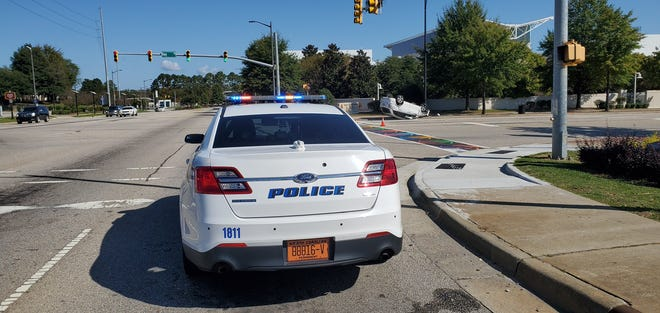 One person was killed in a downtown Fayetteville traffic accident Saturday, Oct. 24, 2020, according to the Fayetteville Police Department.