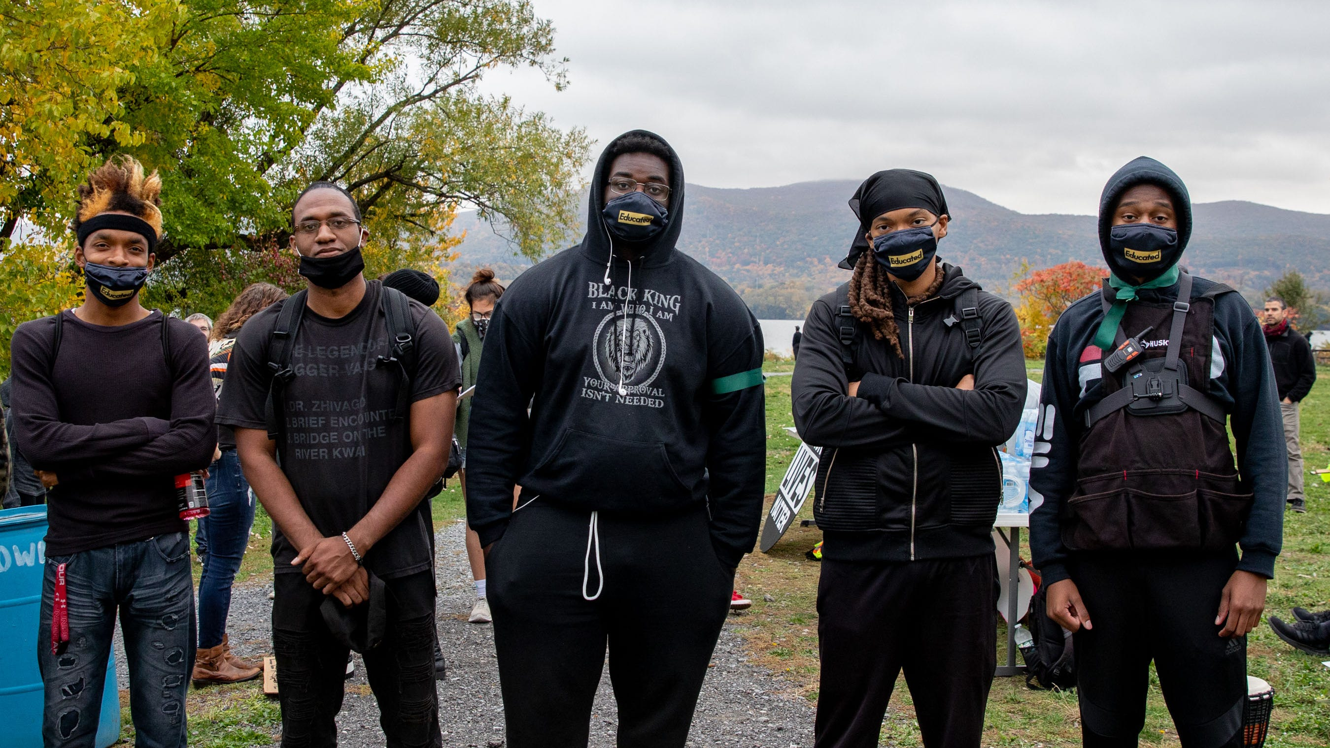 Young men in Newburgh want residents to know they care beyond protests