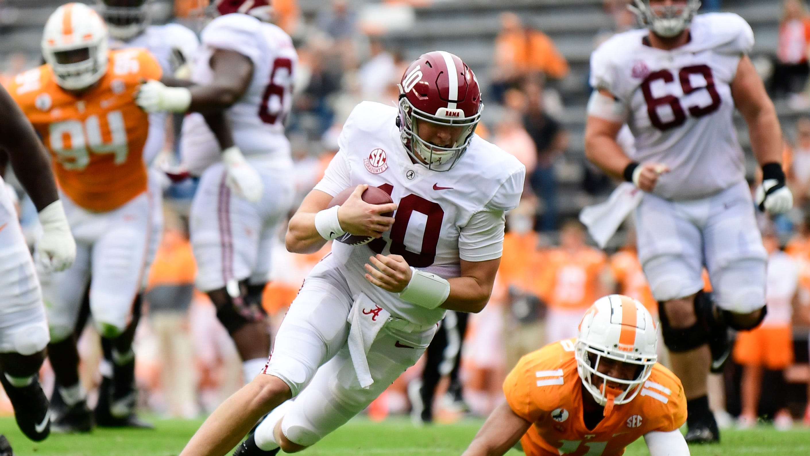 Grading Alabama football's performance in another win over ...