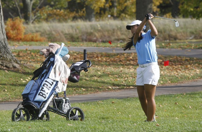 Berlin freshman Mia Raines tied for 10th in the Division I state tournament held Oct. 23 and 24 on Ohio State's Gray Course. She earned second-team all-state honors.