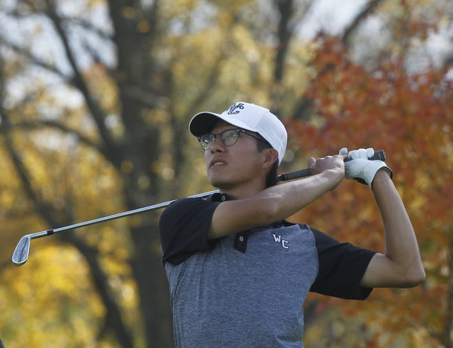 Josh Qian, one of three seniors for Westerville Central, finished seventh at the Division I state tournament Oct. 24, a year after placing eighth. The Warhawks also won the program's first league title.