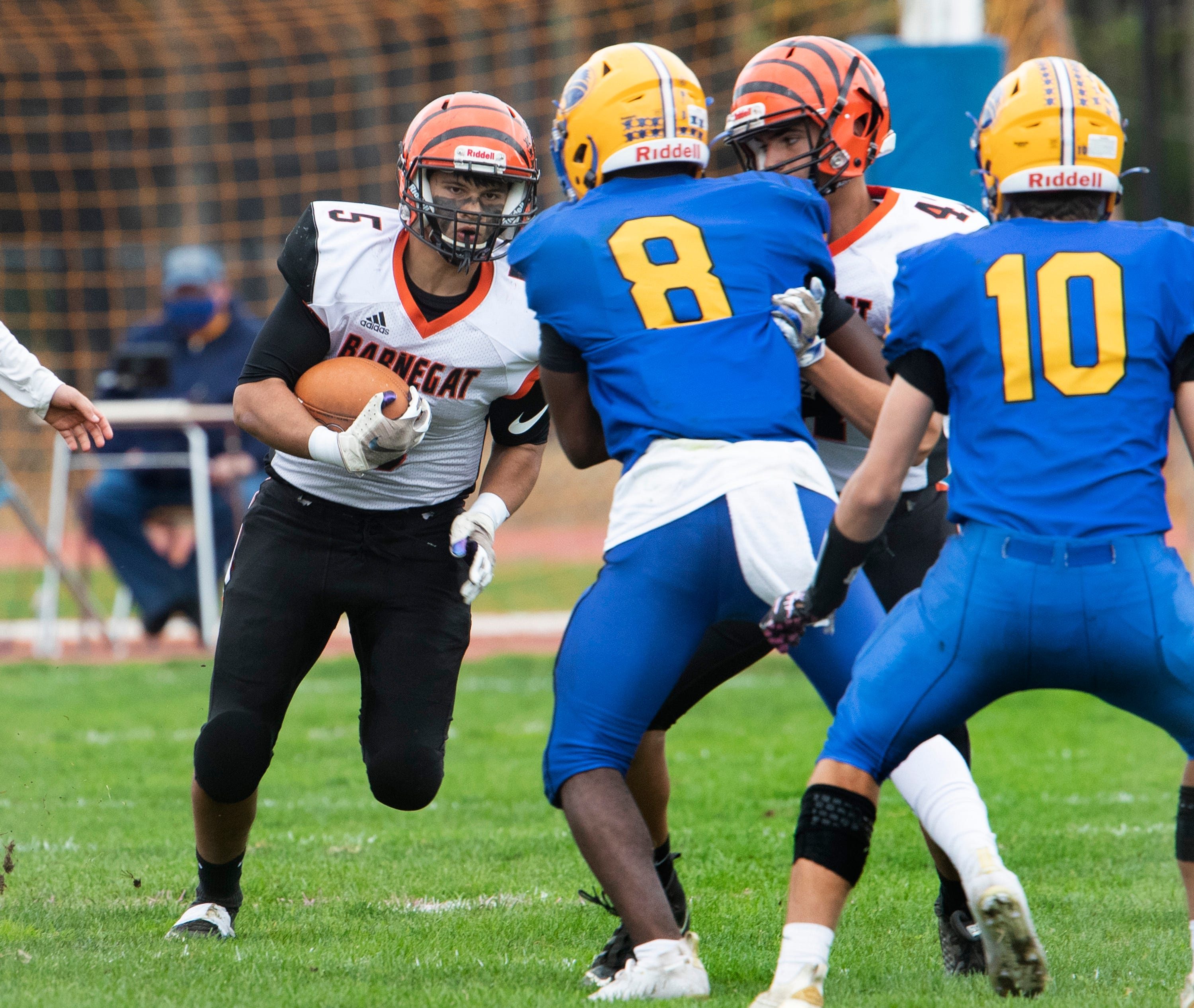 Video highlights of Manchester football versus Barnegat on Oct. 24, 2020