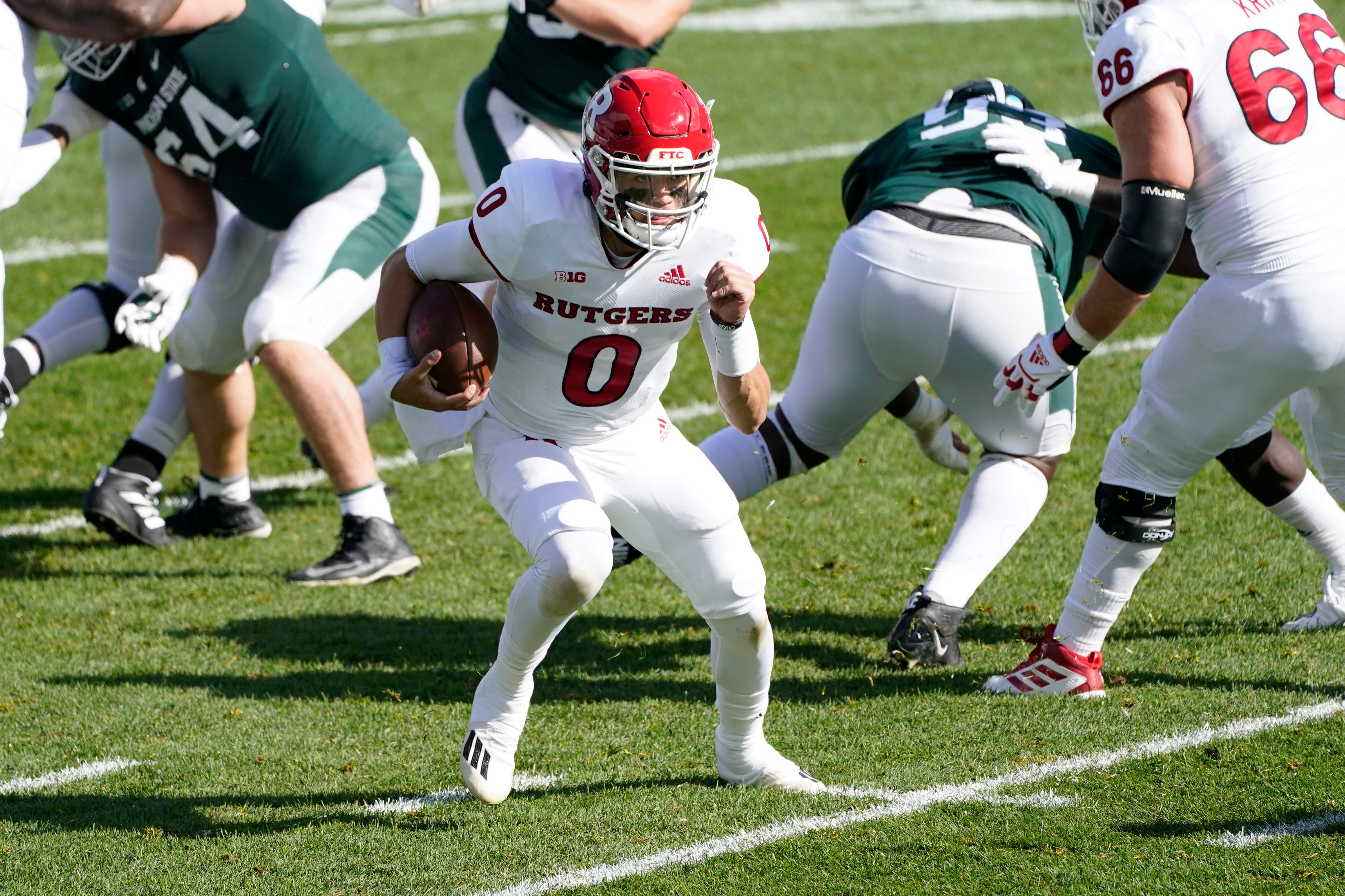 Rutgers writer Chris Iseman on Scarlet Knights' win over Michigan State