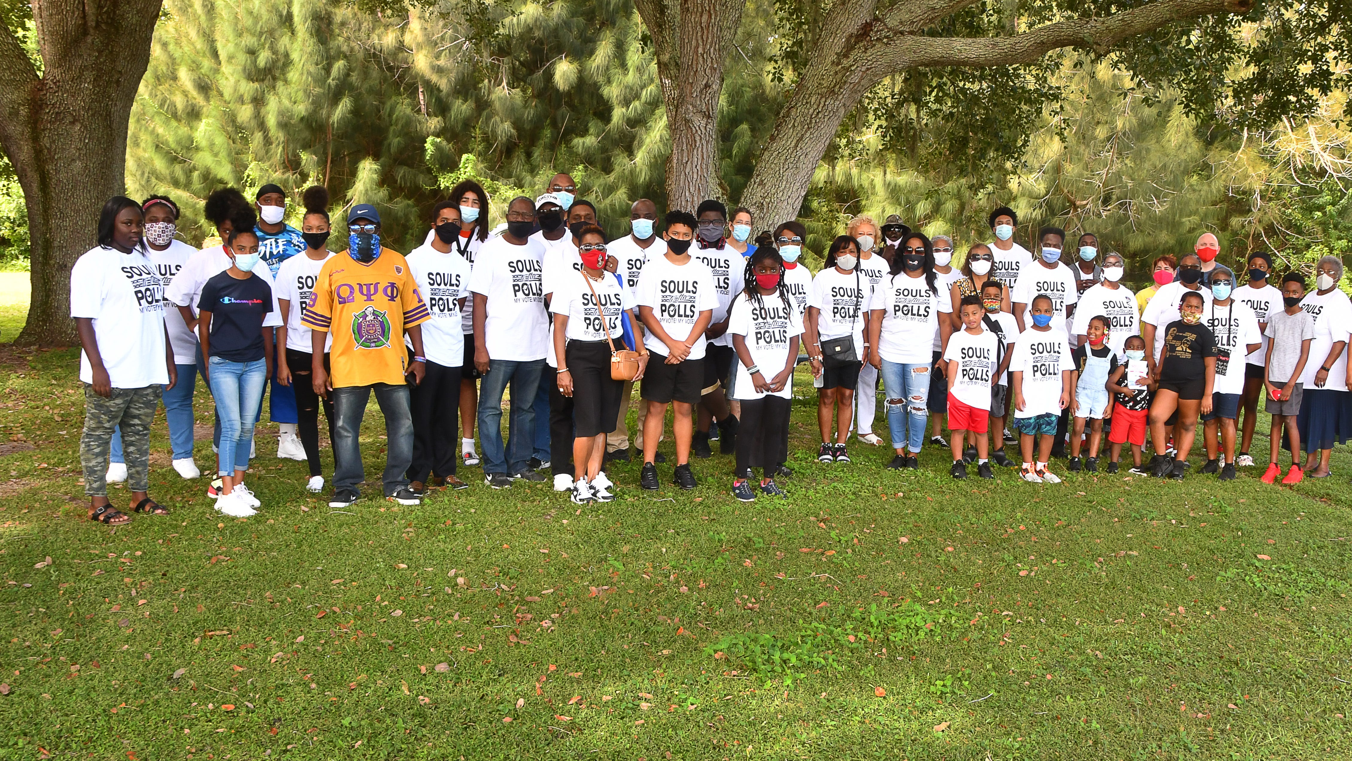 Souls to the Polls events in Cocoa and Melbourne