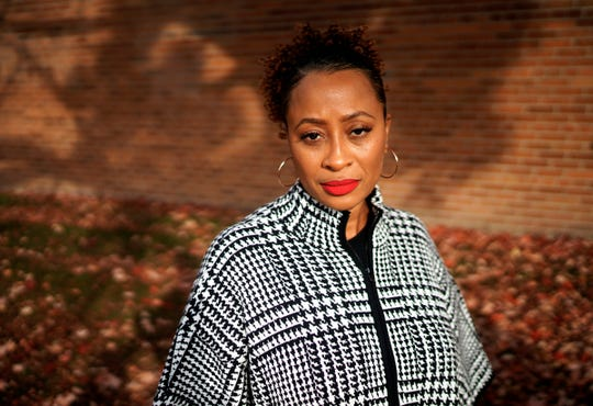 Kiddada Green is the founding executive director of the Black Mothers' Breastfeeding Association, a group that hosts virtual support meetings for new mothers.