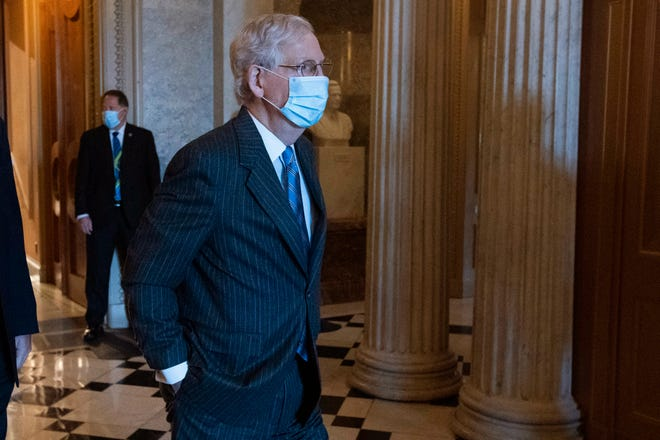 Mcconnell Says His Apparent Bruises Not Health Issue