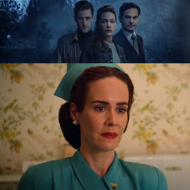 """(top to bottom) """"The Haunting of Bly Manor"""" and """"Ratched"""" are both staff writer approved Netflix series to leave you spooked this Halloween season."""