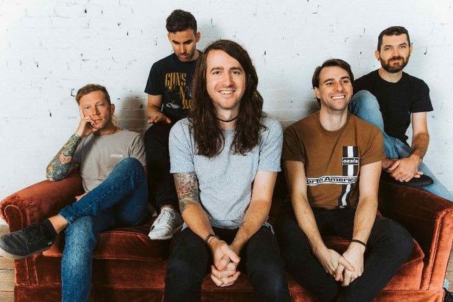 The guys behind the Tallahassee native alternative rock band, Mayday Parade.