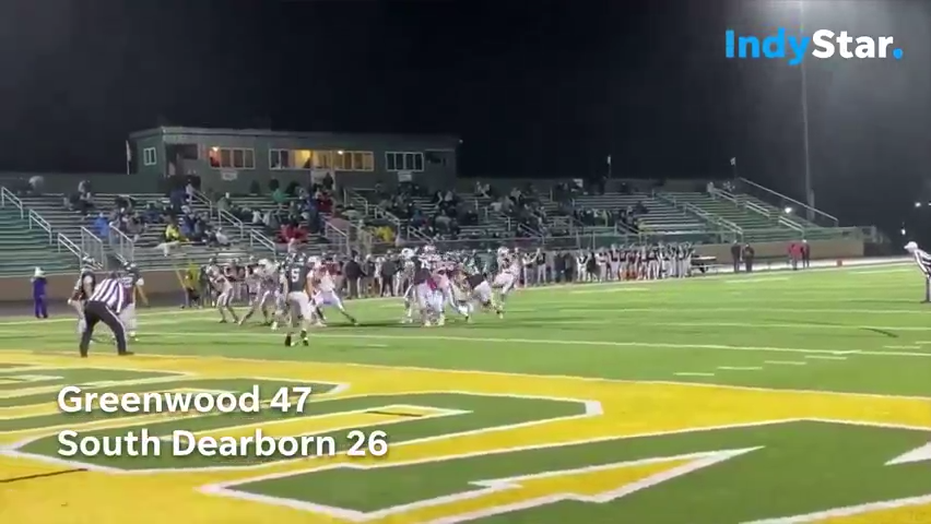 Indiana High School Football Highlights: Greenwood 47, South Dearborn 26