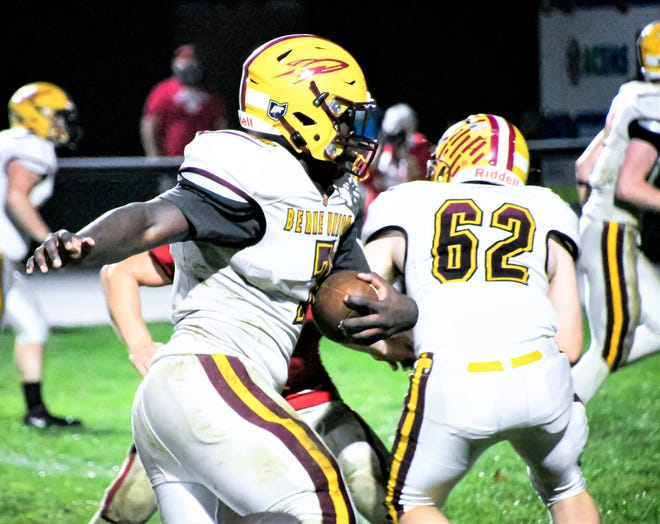 Berne Union senior running back Chris Prince was named Division VII first team All-Ohio as a running back by the Ohio Prep Sportswriters Association on Monday.