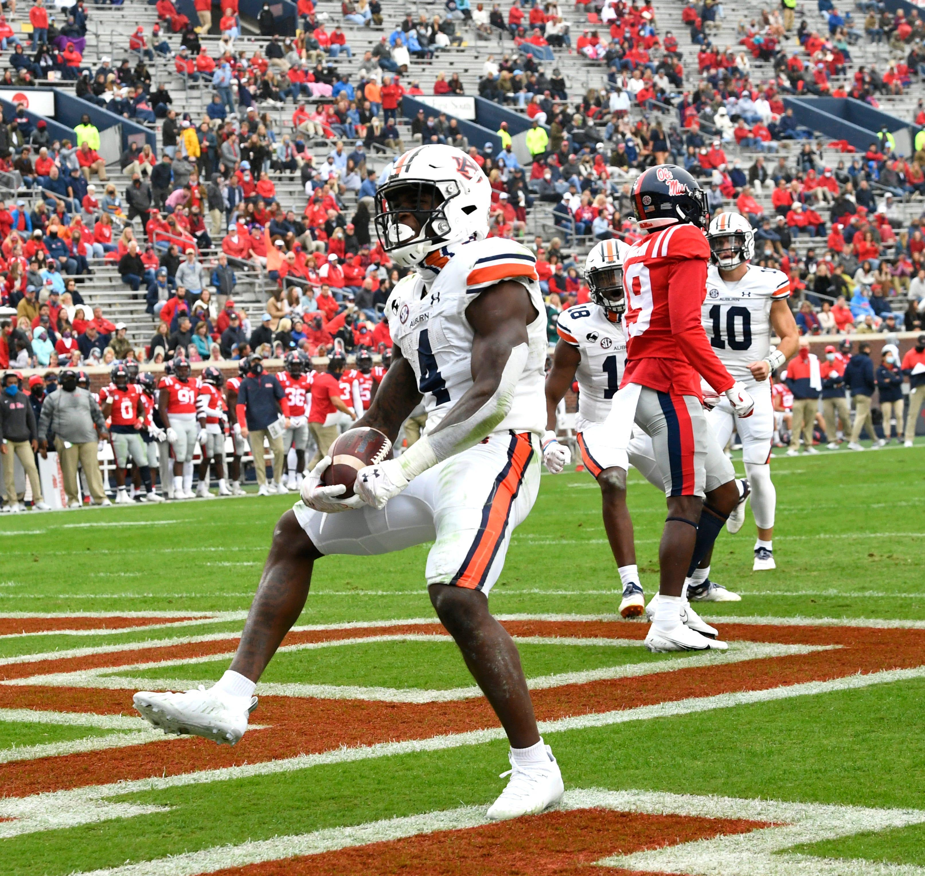 Tank Bigsby Ties Bo Jackson Record In Auburn Football Win Vs Ole Miss