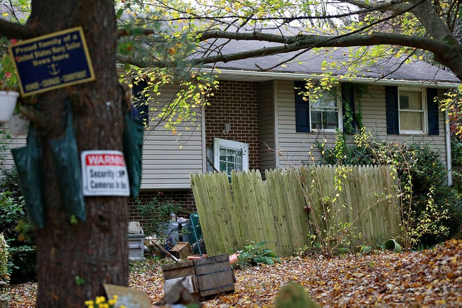 The home of Michelle Baldwin is shown in West Manheim Township, Saturday, Oct. 24, 2020. Baldwin has been charged with 106 counts for alleged animal neglect and cruelty, as well as six counts of aggravated assault, one count of fleeing and eluding police, and two misdemeanor counts for simple assault, according to court documents. A total of 15 dogs, three cats and six cockatiels were taken from the residence. Dawn J. Sagert photo