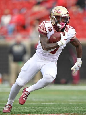 Redshirt-sophomore Jashaun Corbin rushed for 61 yards on 10 carries in FSU's loss to Louisville.