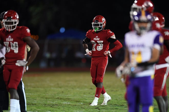 Vero Beach High School hosted Fort Pierce Central High School on Friday, Oct. 23, 2020, for their homecoming game at the citrus Bowl. Vero Beach won the game 50-7.