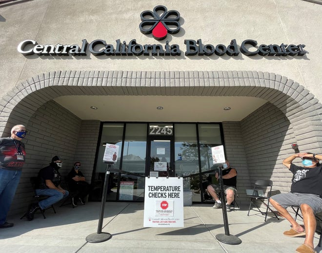 Raiders For Life Boosters held its 16th annual blood drive at Central California Blood Center on Saturday, October 24, 2020.