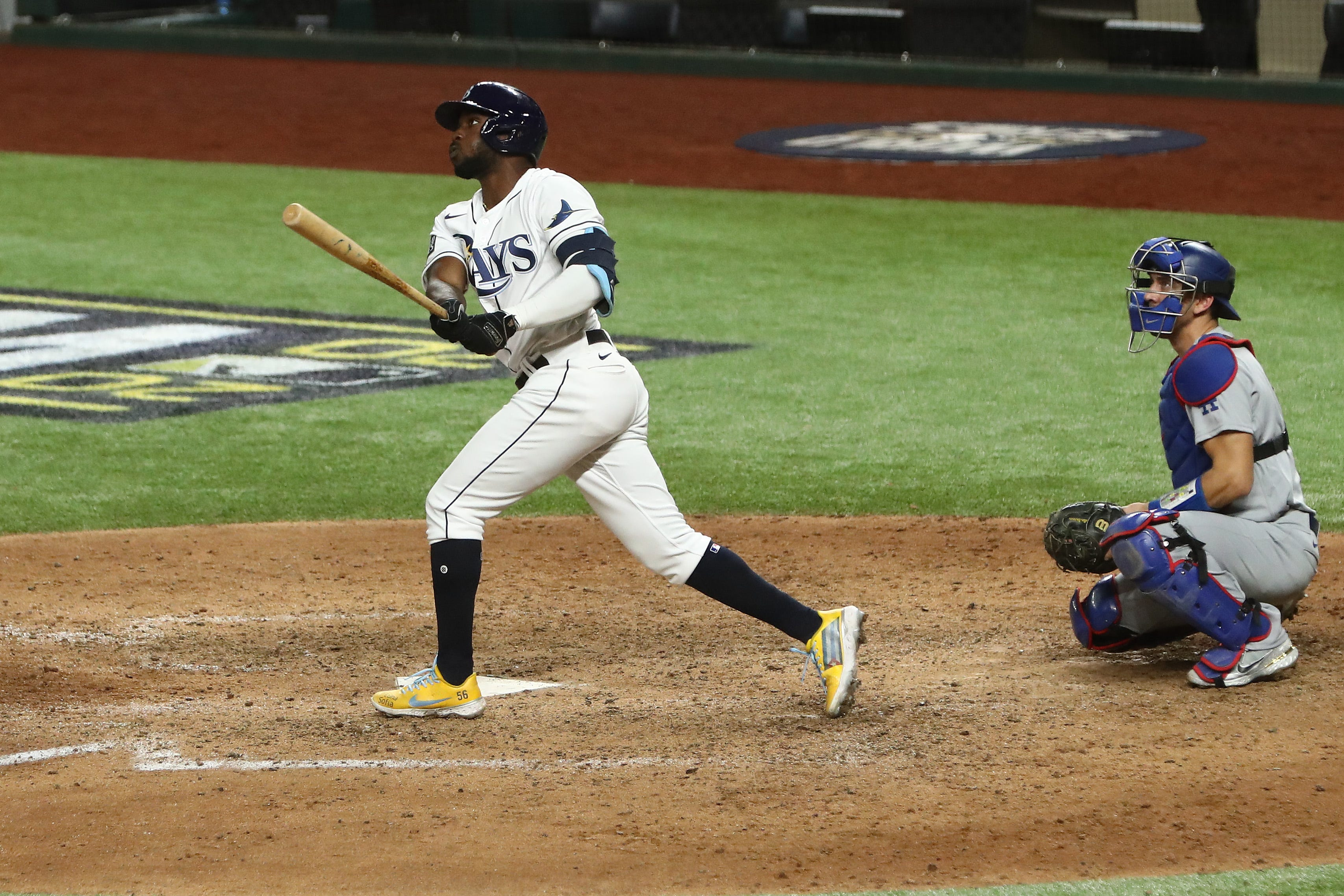 Rays  Randy Arozarena ties MLB record for home runs in a postseason, breaks Derek Jeter s rookie hits mark