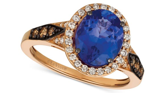 Give 'em the old razzle dazzle with this stunning tanzanite gemstone.