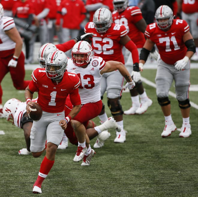 Justin Fields was nearly flawless against Nebraska on Saturday, but other aspects of the Buckeyes' game will need to improve.