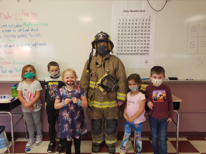 Dansville students learn fire safety this fall.