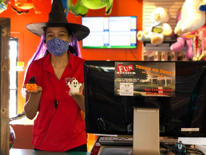 Kylah Burch and Hilltop Fun Center of Somersworth are getting ready for Trunk or Treat on Saturday, Oct. 31.