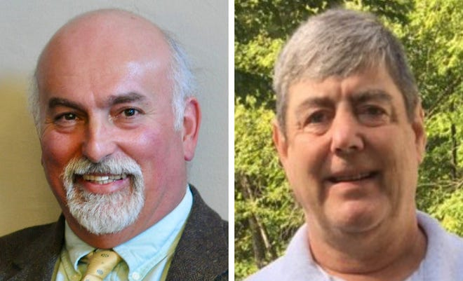Republican Clifford Newton left, and Democrat Tom Ransom are candidates for the Strafford County District 9 seat representing Rochester Ward 2 in the New Hampshire House.
