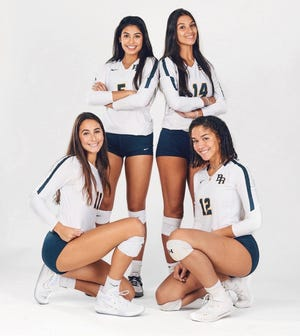 Boca Raton's four seniors are expected to pave the way for this year's shortened season. COURTESY OF BOCA RATON ATHLETICS