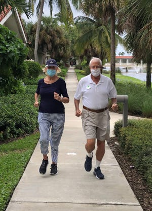 La Posada residents Ann Mayberry and Steve Dukkony have been training for the Wisdom Warrior Challenge track meet for months and can't wait to compete for their community. The unique fitness event brings together active adult communities from all over South Florida for a friendly competition that promotes health and comradery.