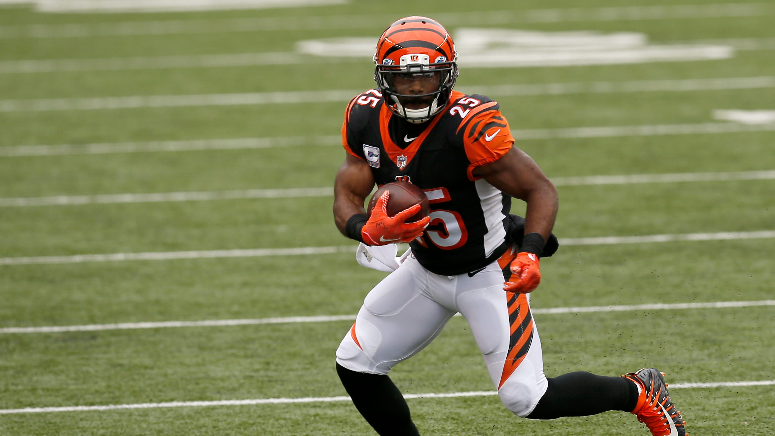 Watch: Giovani Bernard press conference after loss to Cleveland Browns