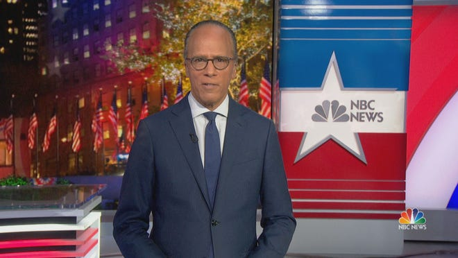 """NBC Nightly News"" anchor Lester Holt is coming to Milwaukee Tuesday, Oct. 27, ahead of the 2020 presidential election."