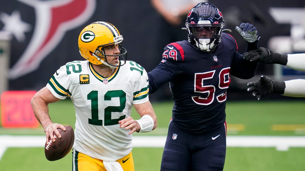 Former Houston Texans defensive end Whitney Mercilus would provide the injury-depleted Packers with a pass-rushing boost - Packers News
