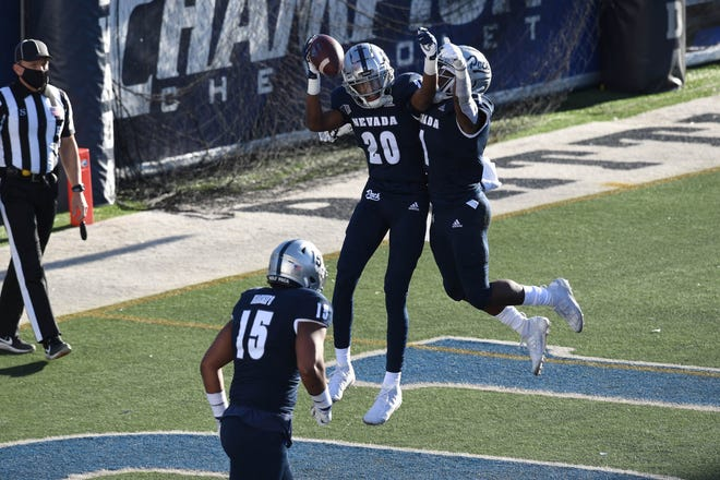 Nevada is coming off a 7-2 season, including its overtime win over Wyoming (pictured).