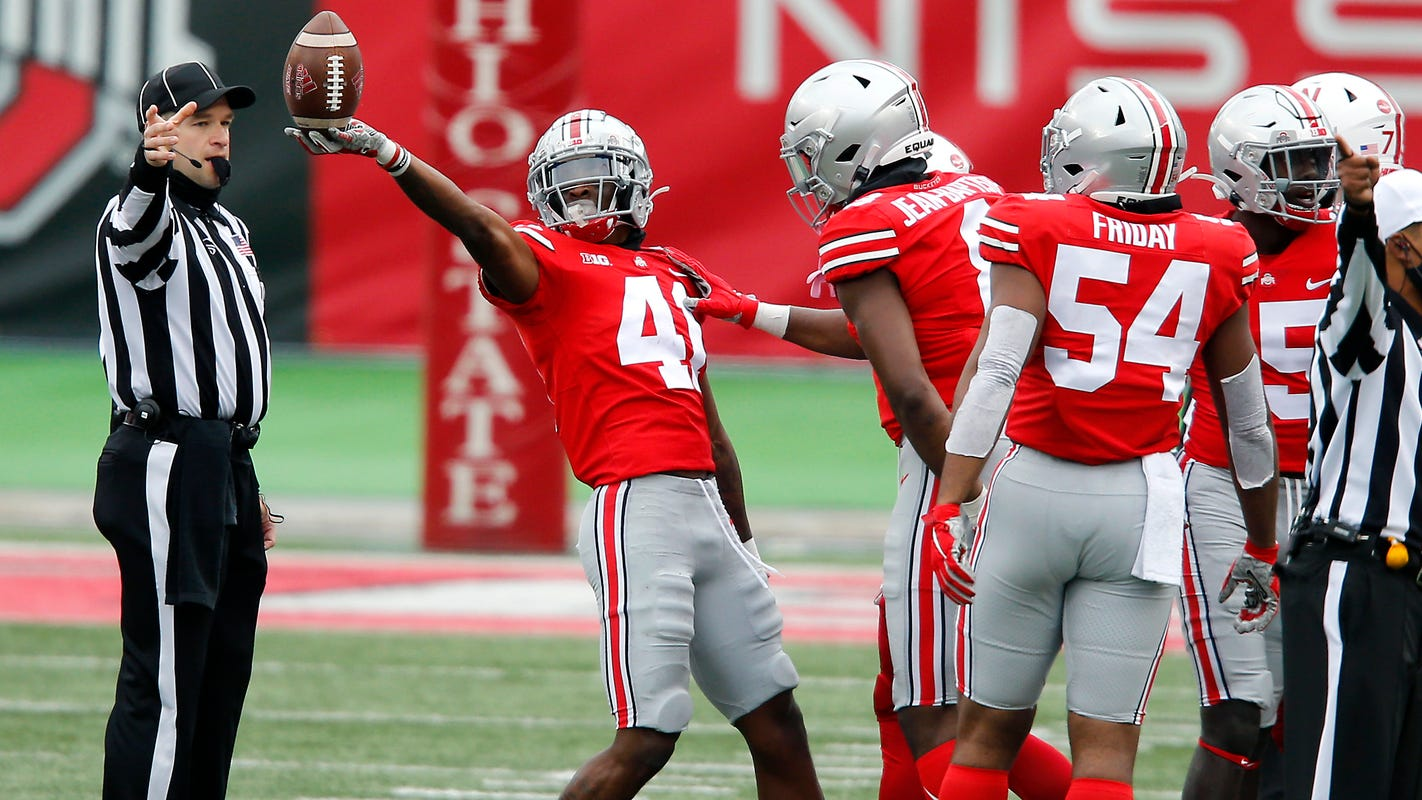 Ohio State up to No. 3 in Amway Coaches Poll behind Clemson Alabama – USA TODAY