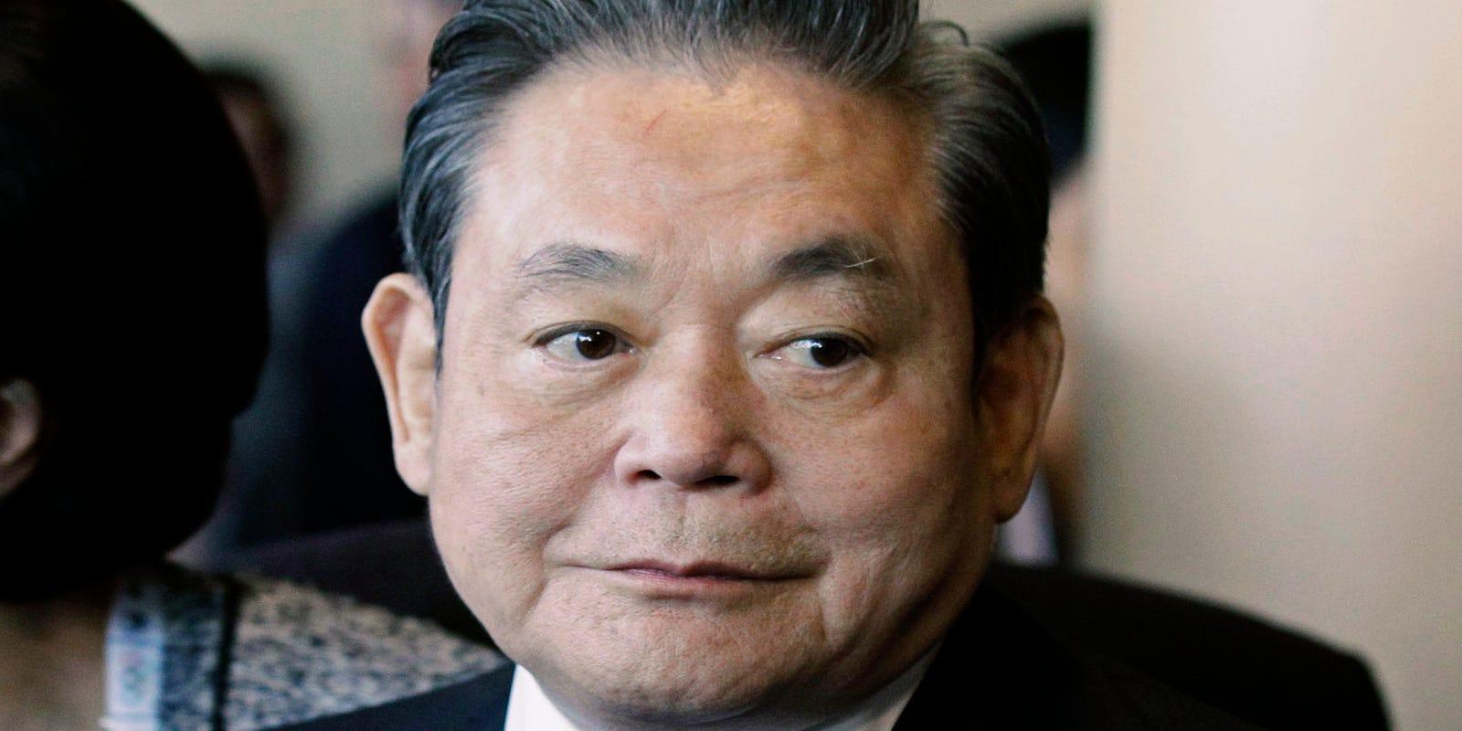 Lee Kun-Hee, Samsung Electronics chairman, dies at 78