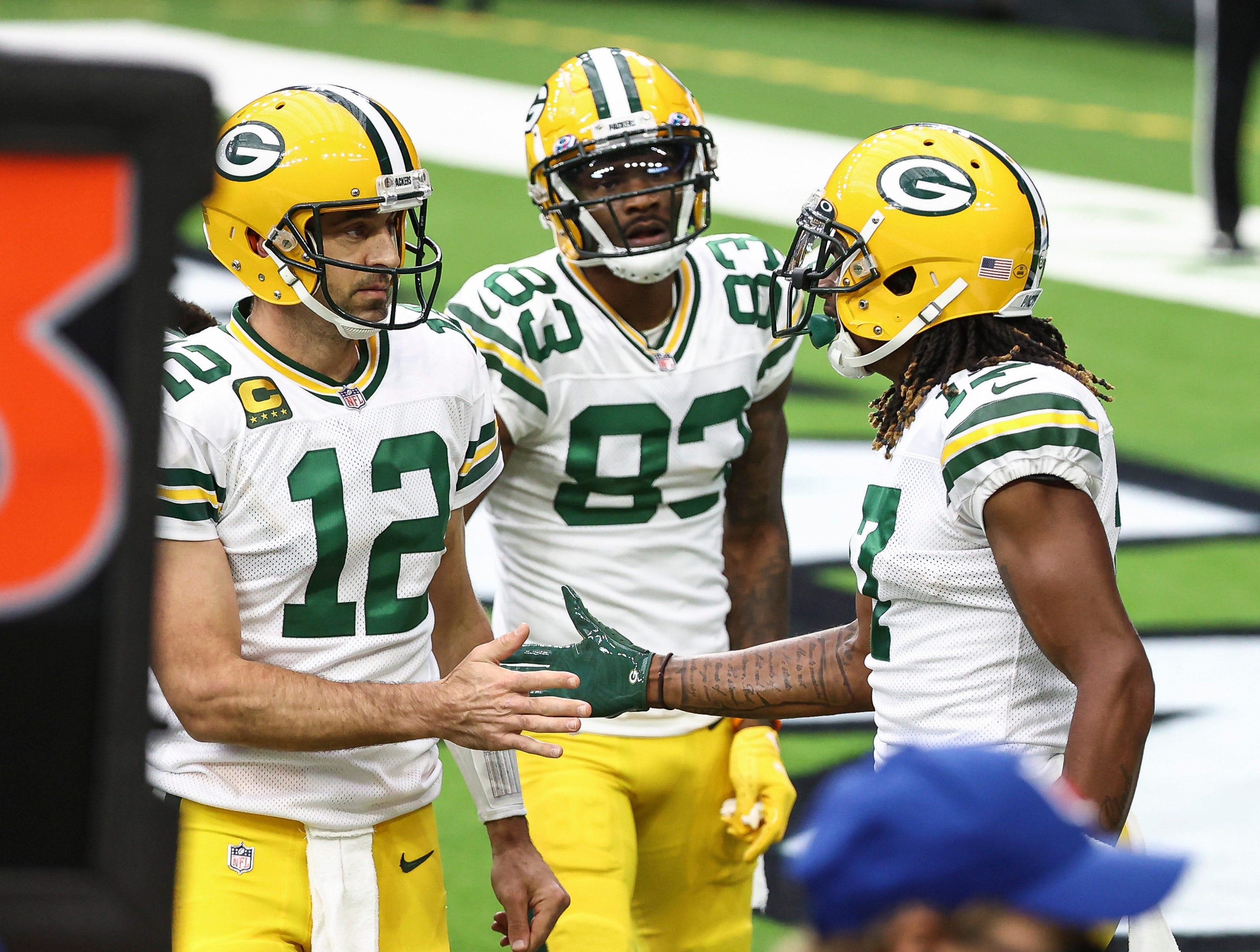Davante Adams, Aaron Rodgers help Packers bounce back against Texans