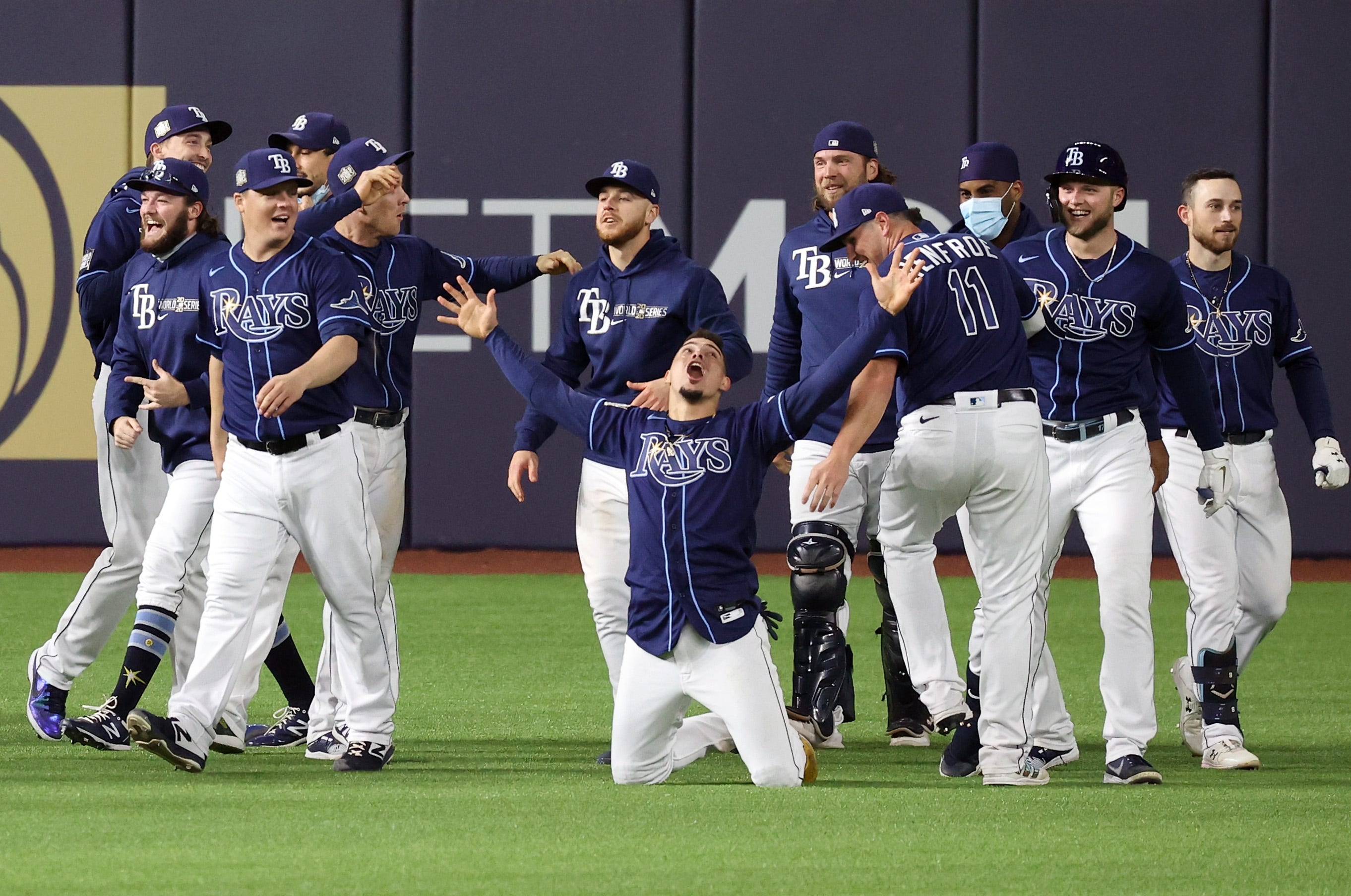 'That was insane': Rays stun Dodgers in Game 4 with epic World Series finish