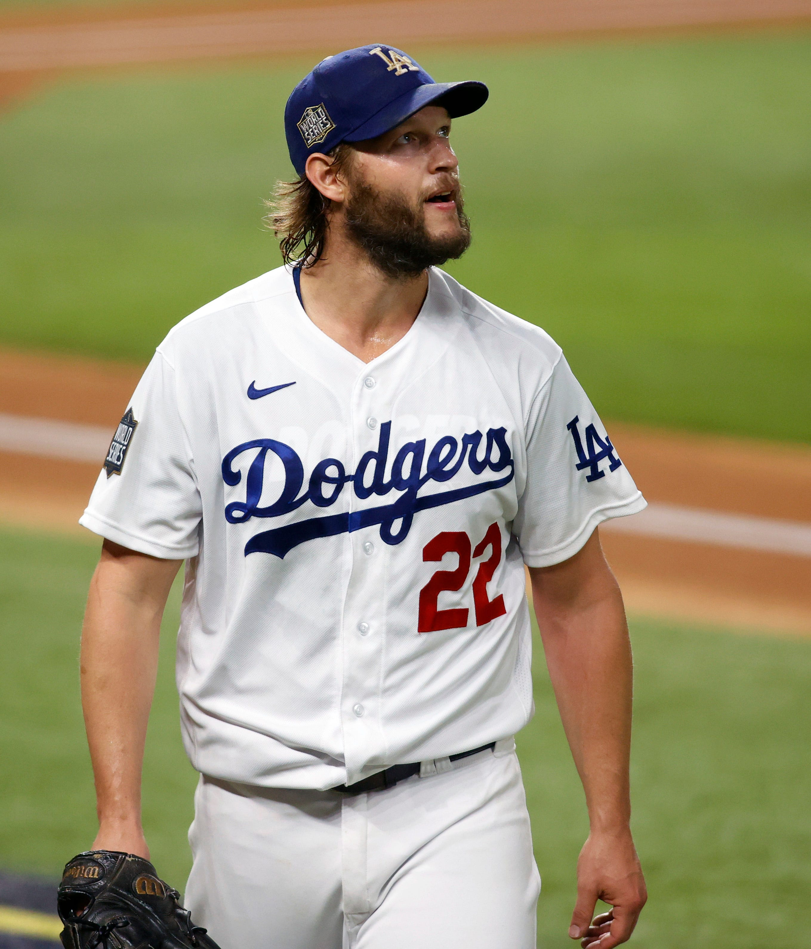 The Dodgers aren't desperate (yet). That may bode well for Clayton Kershaw in World Series Game 5